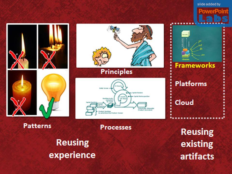 Runtime environment app 1 app 2 Tools Technologies Patterns Frameworks Libraries