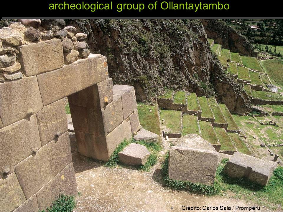 archeological group of Ollantaytambo