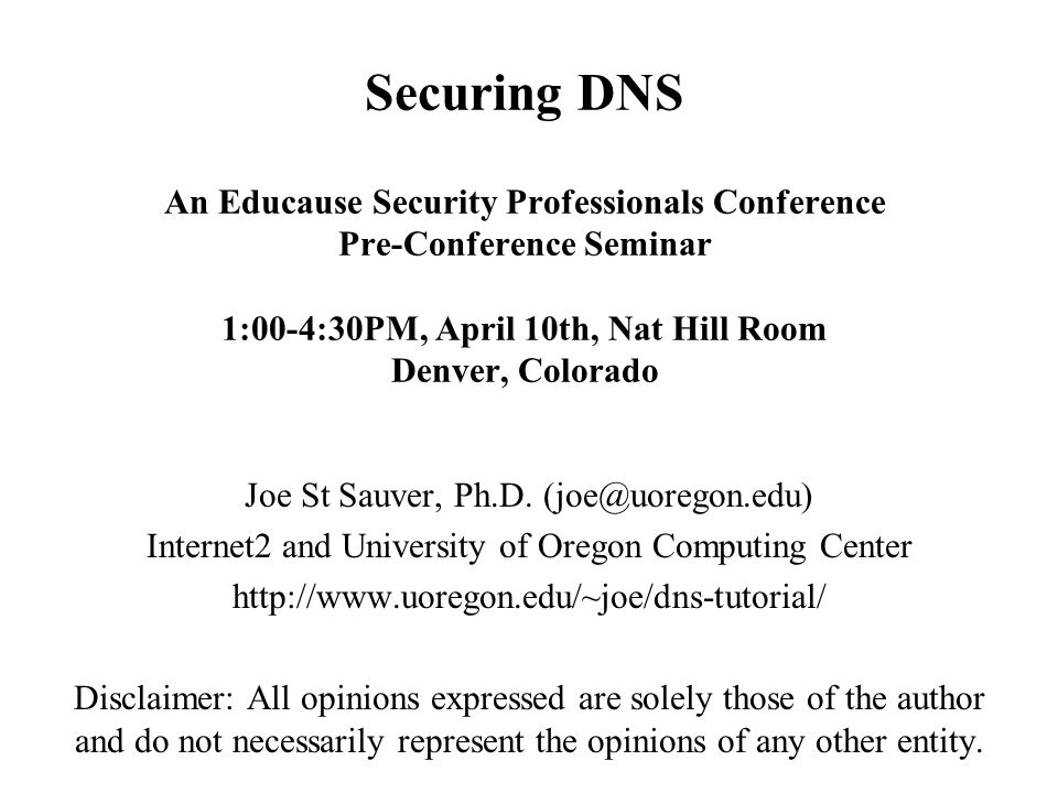 142 Something to Note: DNSSEC Adoption Doesn t Need to Be Symmetric When deploying DNSSEC (just as when deploying SPF or DK/DKIM for email), adoption doesn t need to be symmetric: -- you can sign your own zones with DNSSEC on your authoritative name servers, yet not check DNSSEC on your recursive customer-facing name servers, or -- you can check DNSSEC on your recursive customer-facing facing name servers, yet not publish DNSSEC records for your own domains on your authoritative name servers Most sites will eventually want to take the whole plunge (or skip the technology entirely), but sometimes different people have decision making authority for different parts of the organization, and you should recognize that asymmetric adoption is a possibility.