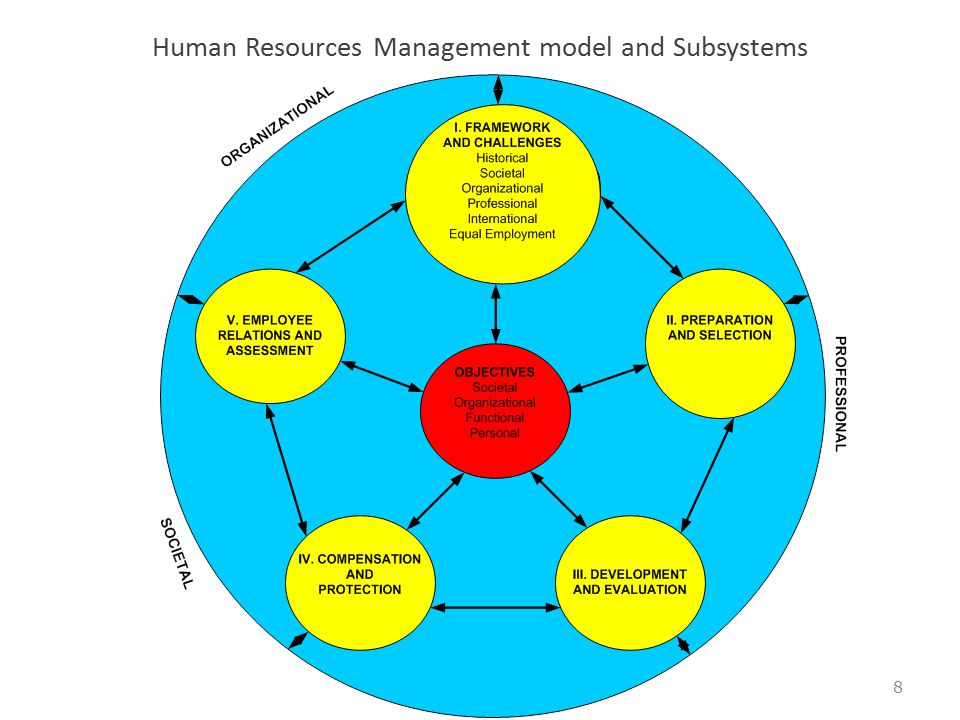 Human Resources Management model and Subsystems 8