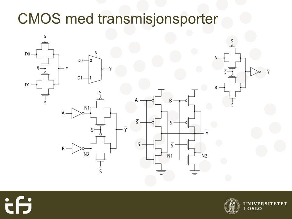 CMOS med transmisjonsporter