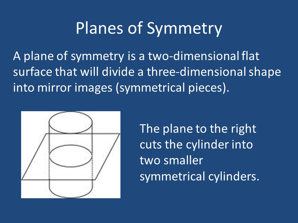 Planes of Symmetry How many planes of symmetry does this prism have.