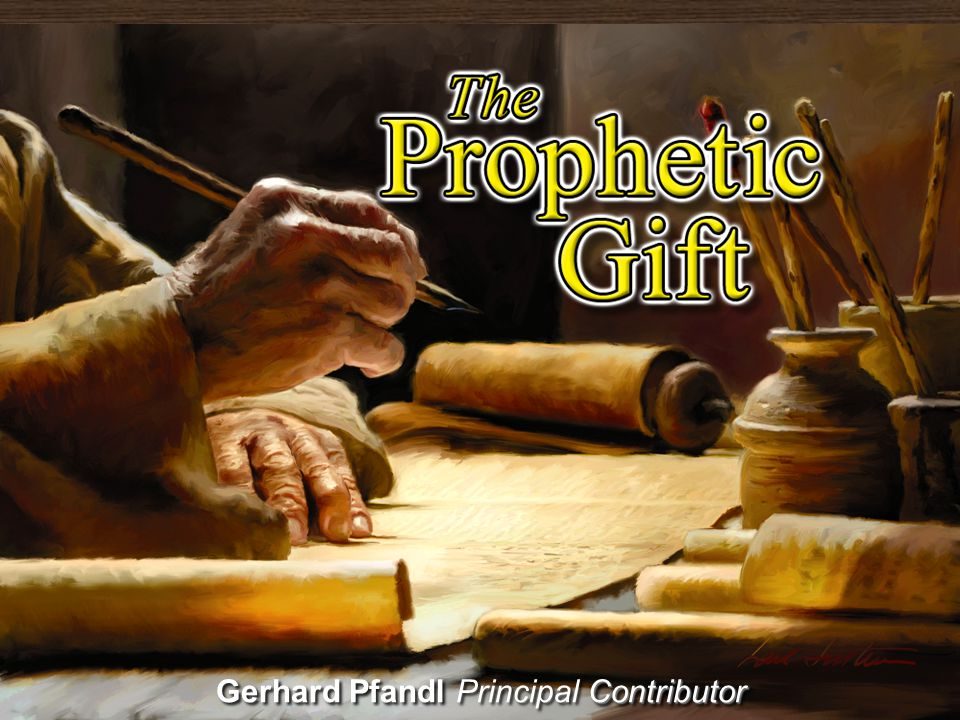 Spiritual Gifts and Prophecy 2.