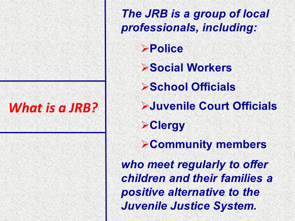 What is a JRB.