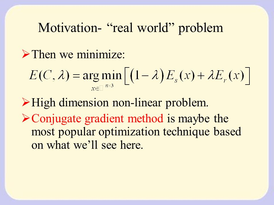 Directional Derivatives: first, the one dimension derivative: