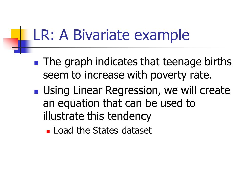 MLR: R - Squared MLR uses the Adjusted R 2 instead of the R 2 to account for only those variables that contribute significantly to the model The AR 2 in this case, 0.594, indicates that the model accounts for 59.4% of the variation in the teenage birth rate