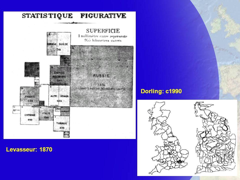 Levasseur: 1870 Dorling: c1990