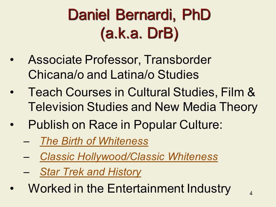 4 Daniel Bernardi, PhD (a.k.a.