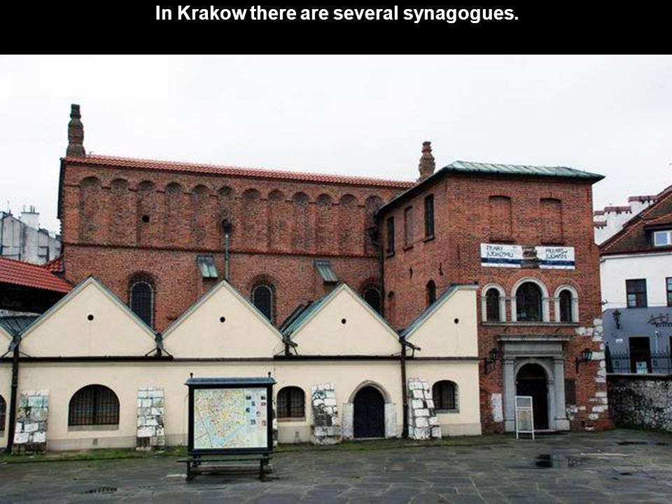 In Bialystok there is a very beautiful building, that served as a synagogue from 1890 to 1941, but is now used for other purposes.