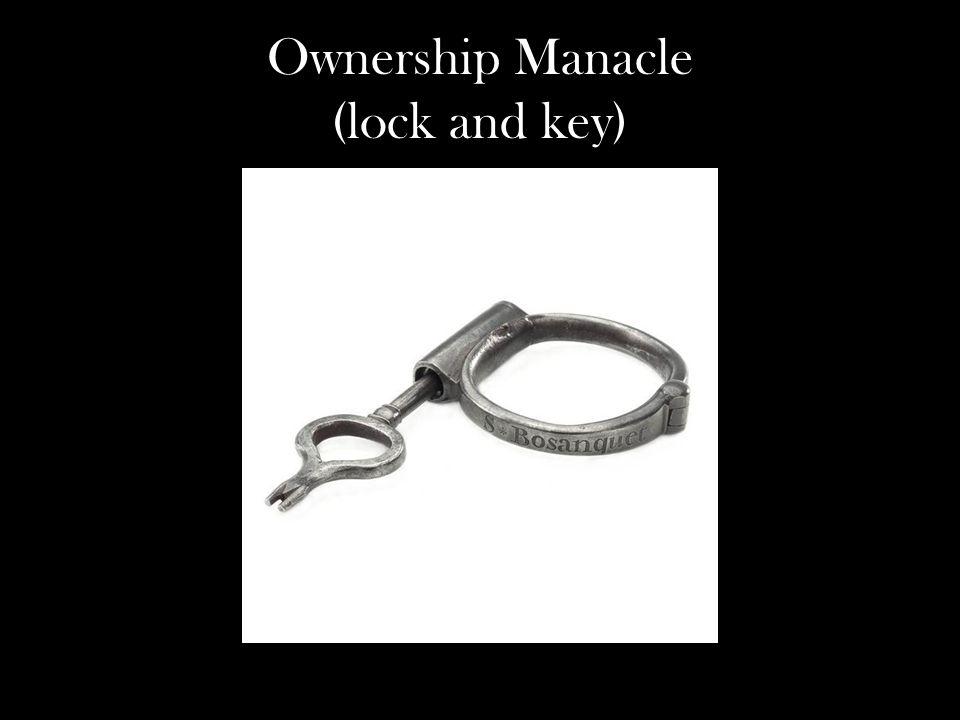 Ownership Manacle (lock and key)