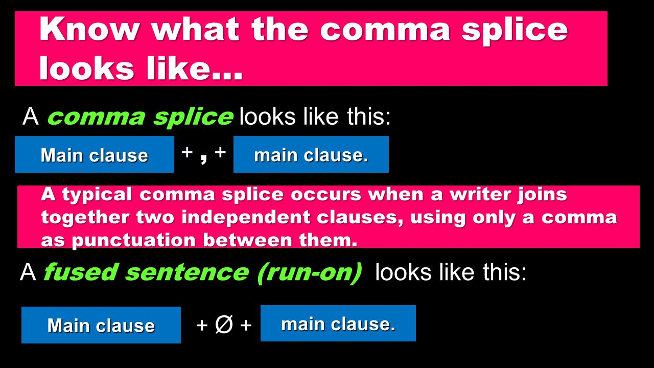 The 3 Most Common Comma Sins: 1.Comma Splice (3/16) 2.Equal Adjectives (3/17) 3.Phrases (3/18) Quiz on Friday, 3/20