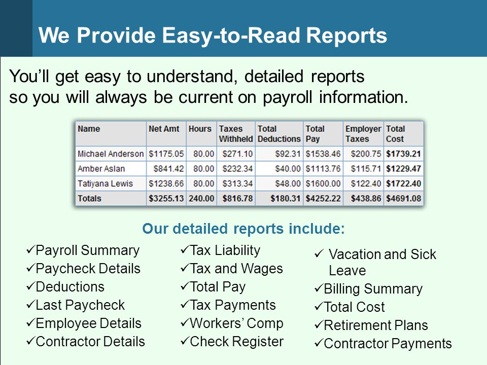 We Make Workers' Compensation Payments Easy Automatically pay workers' compensation premiums to The Hartford, one pay period at a time Stay in Control Of Cash-Flow Elimination of a large down payment Pay premiums one pay period at a time Avoid year-end surprises Save Time No checks to write Minimize audit activity
