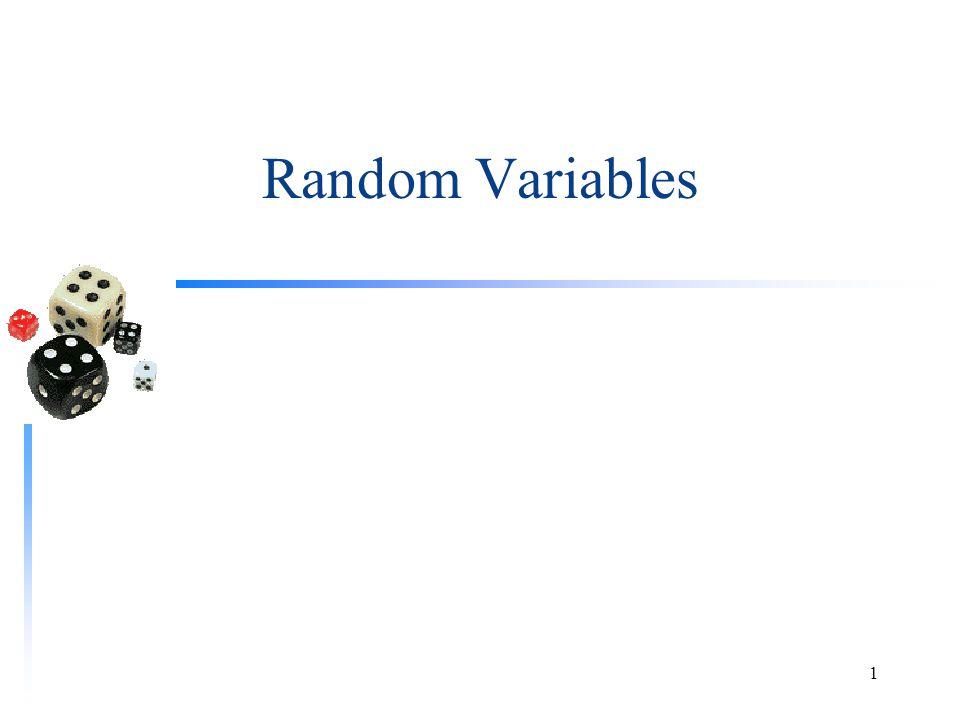 Random Variables 1