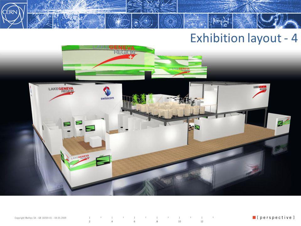 July 2009Wolfgang von Rüden, CERN7 Exhibition layout - 4