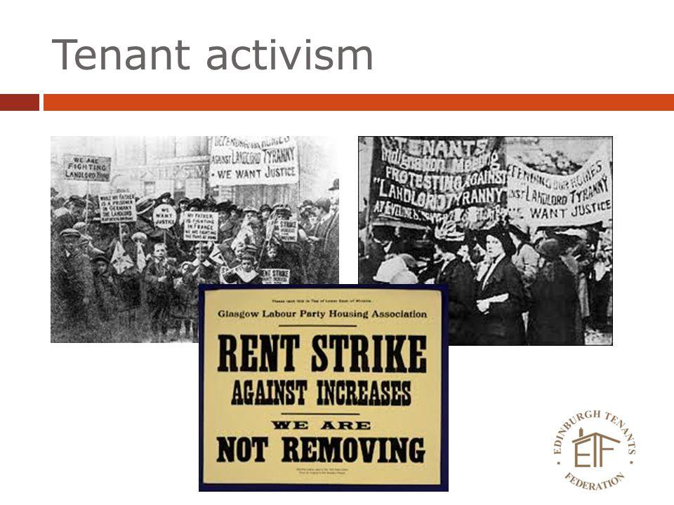 Tenant activism