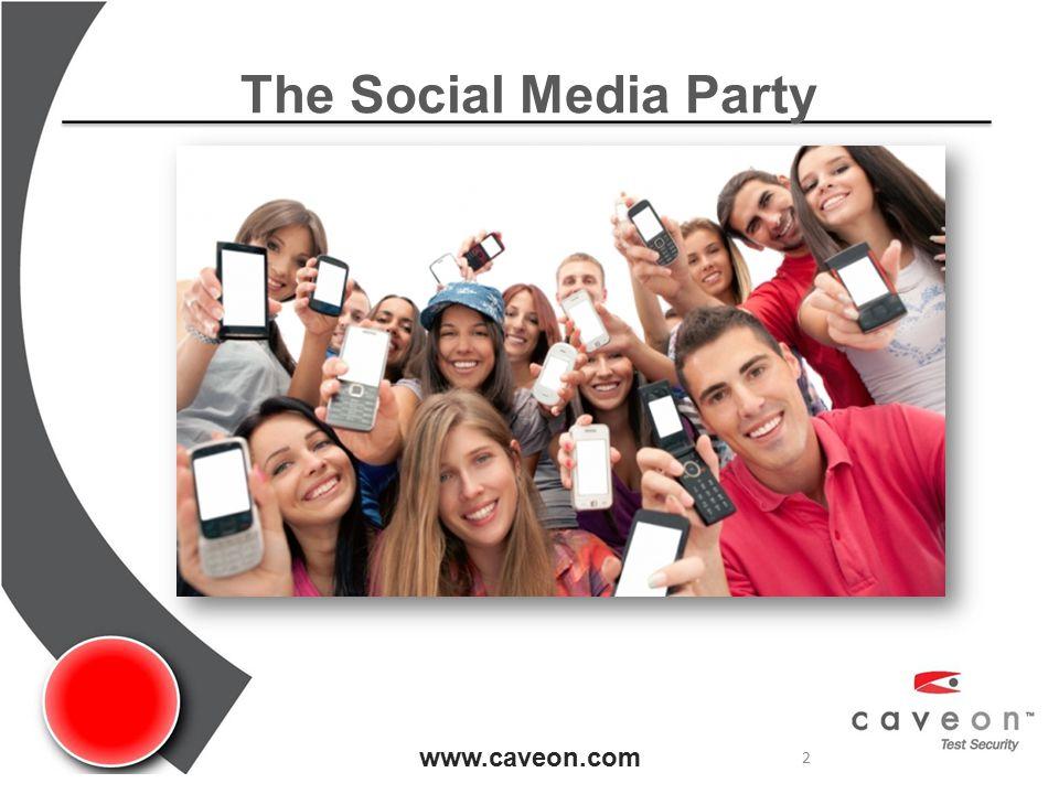 The Social Media Party www.caveon.com 2