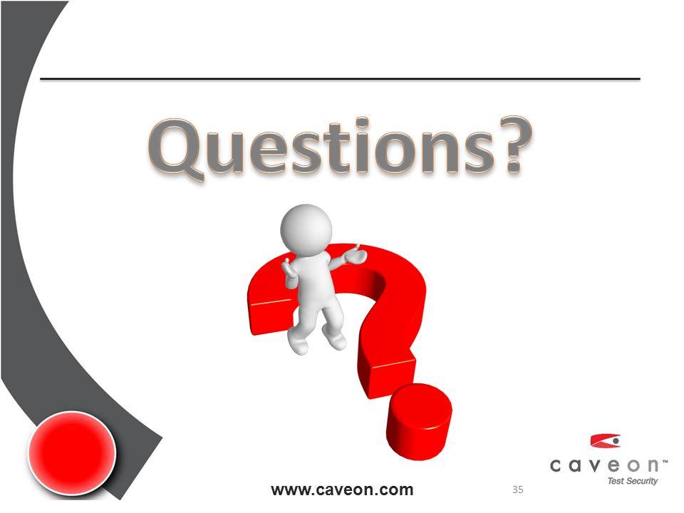 www.caveon.com 35