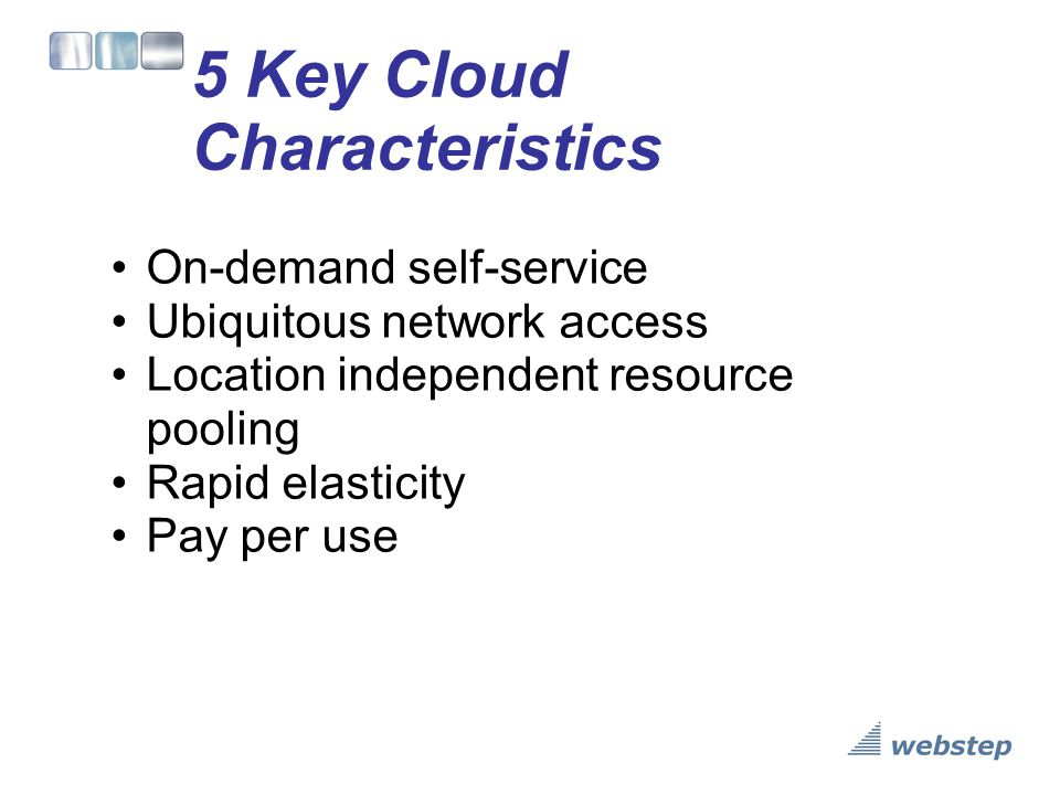 3 Cloud Delivery Models Cloud Software as a Service (SaaS) o Use provider's applications over a network Cloud Platform as a Service (PaaS) o Deploy customer-created applications to a cloud Cloud Infrastructure as a Service (IaaS) o Rent processing, storage, network capacity, and other fundamental computing resources To be considered cloud they must be deployed on top of cloud infrastructure that has the key characteristics