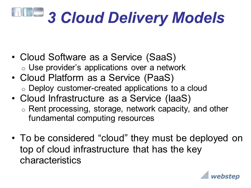 Delivery Model Architectures