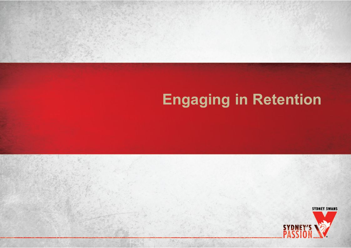 Engaging in Retention