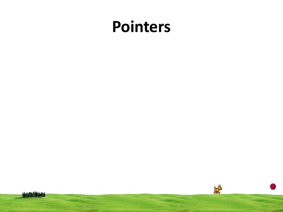 21 Pointers