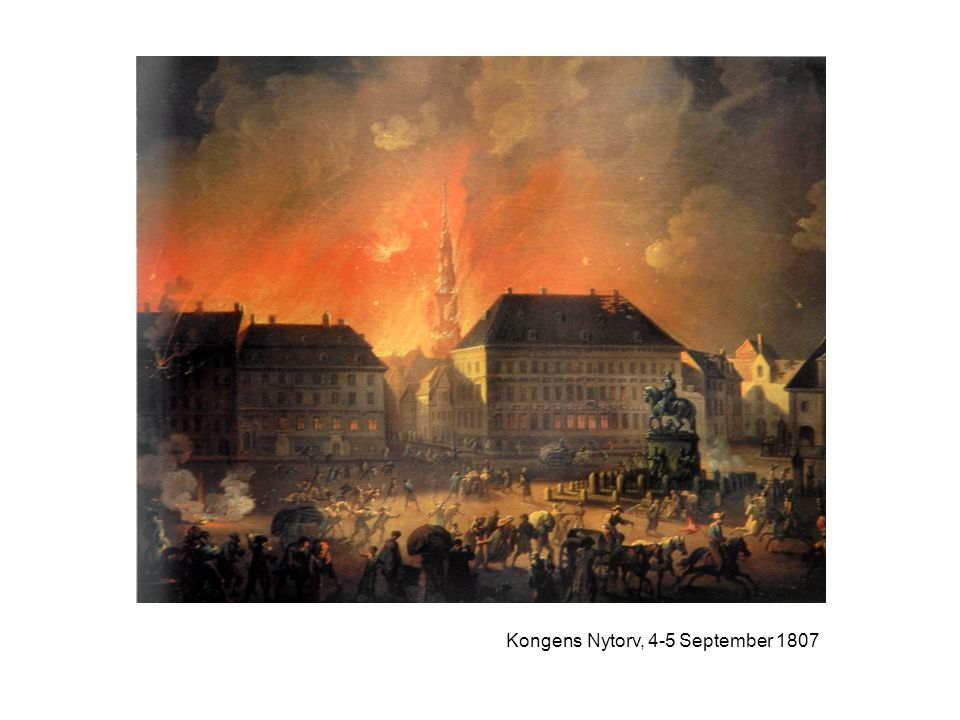 Kongens Nytorv, 4-5 September 1807