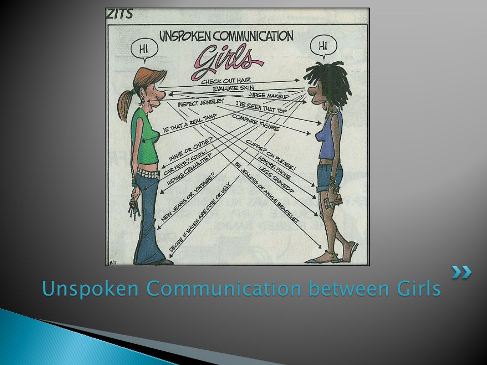 Unspoken Communication between Girls
