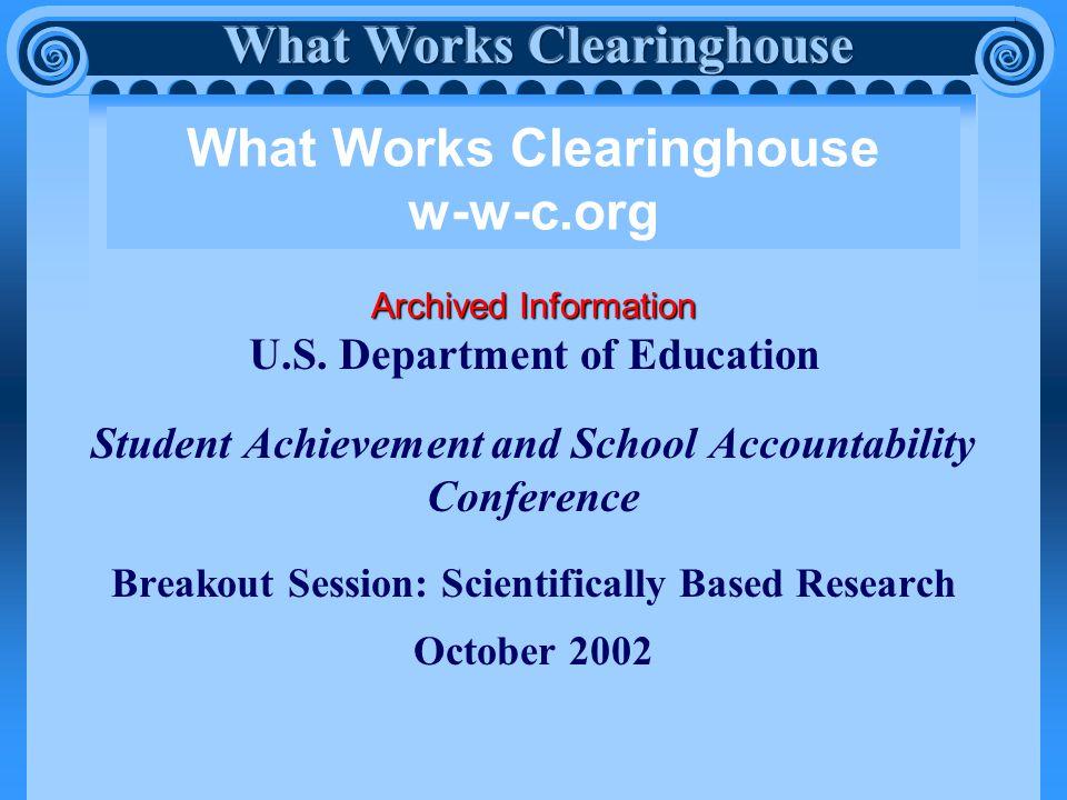 Archived Information U.S.