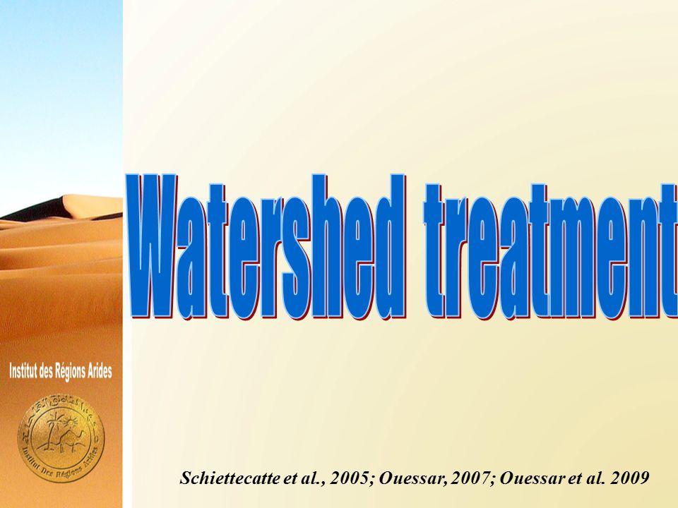Schiettecatte et al., 2005; Ouessar, 2007; Ouessar et al. 2009