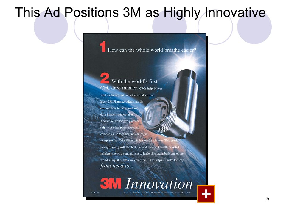 19 This Ad Positions 3M as Highly Innovative +
