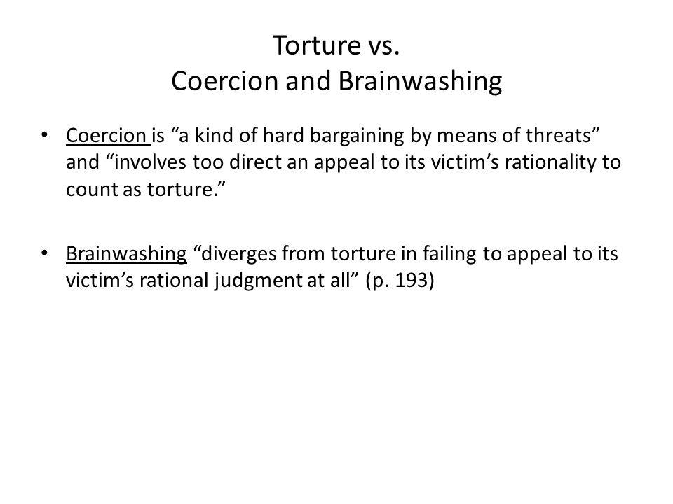 Torture vs.