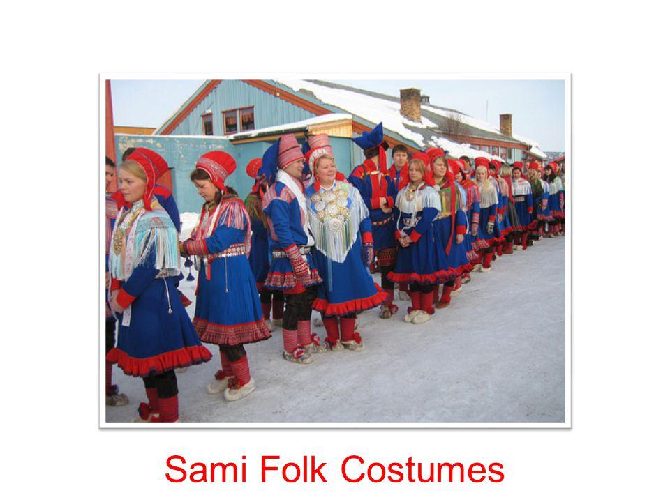 Sami Folk Costumes