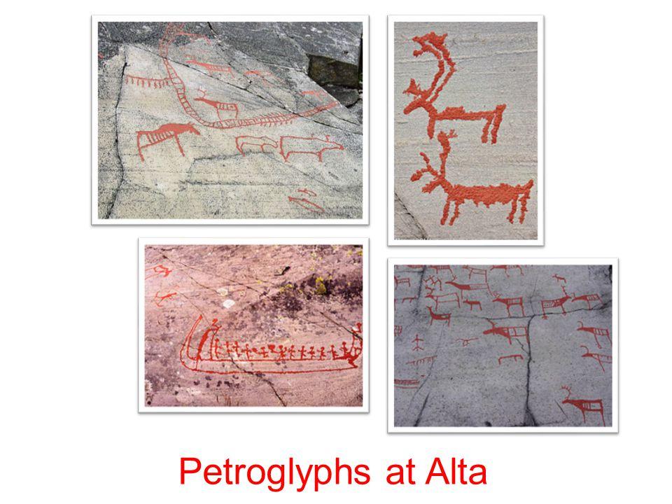 Petroglyphs at Alta