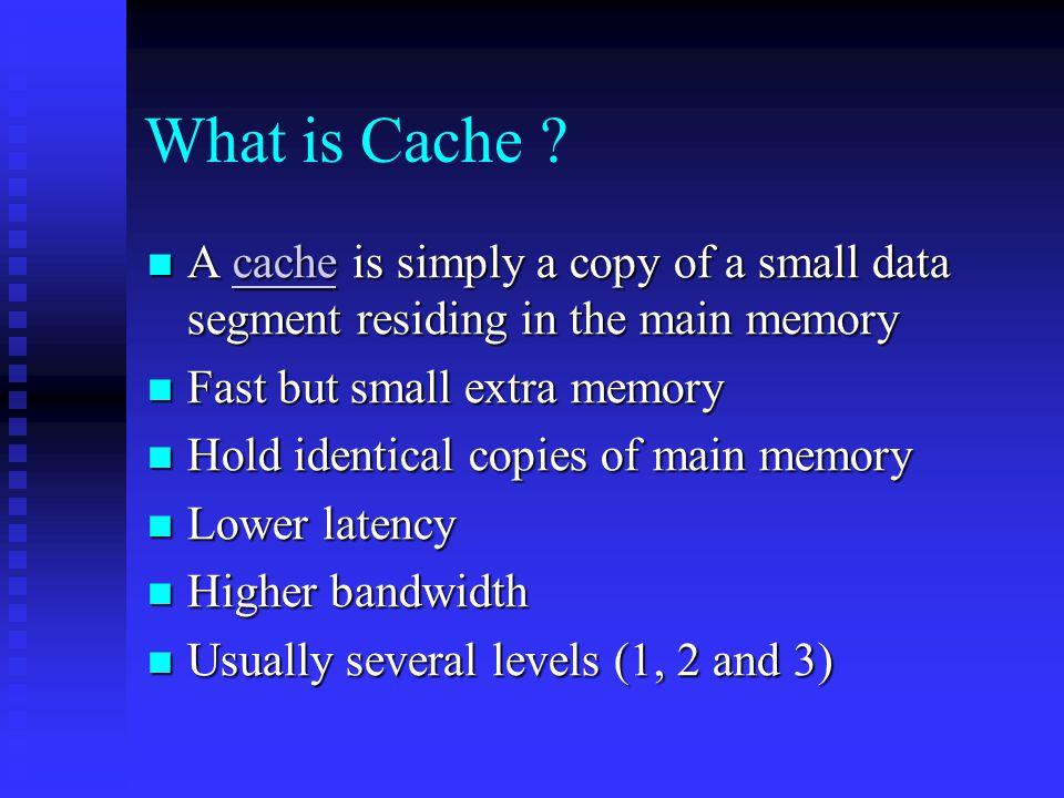 Progression of Cache (continued) Pentium Pro: (1995)   32-bit microprocessor, 64-bit data bus and 36-bit address bus.