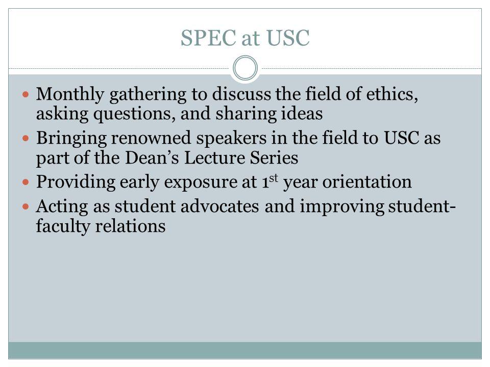 SPEC at USC Amalgam vs composite