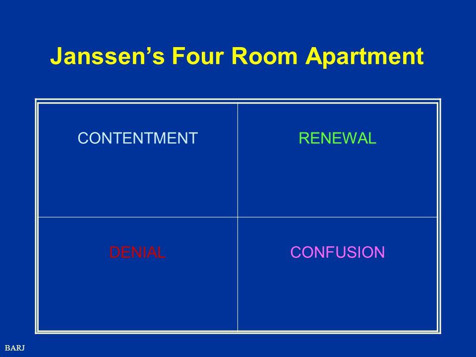 BARJ Janssen's Four Room Apartment CONTENTMENTRENEWAL DENIALCONFUSION