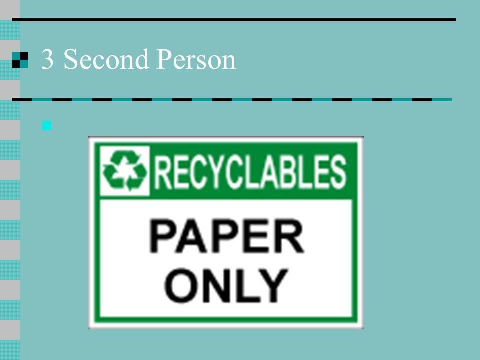 3 Second Person