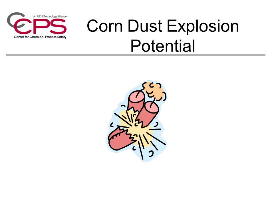 Corn Dust Explosion Potential