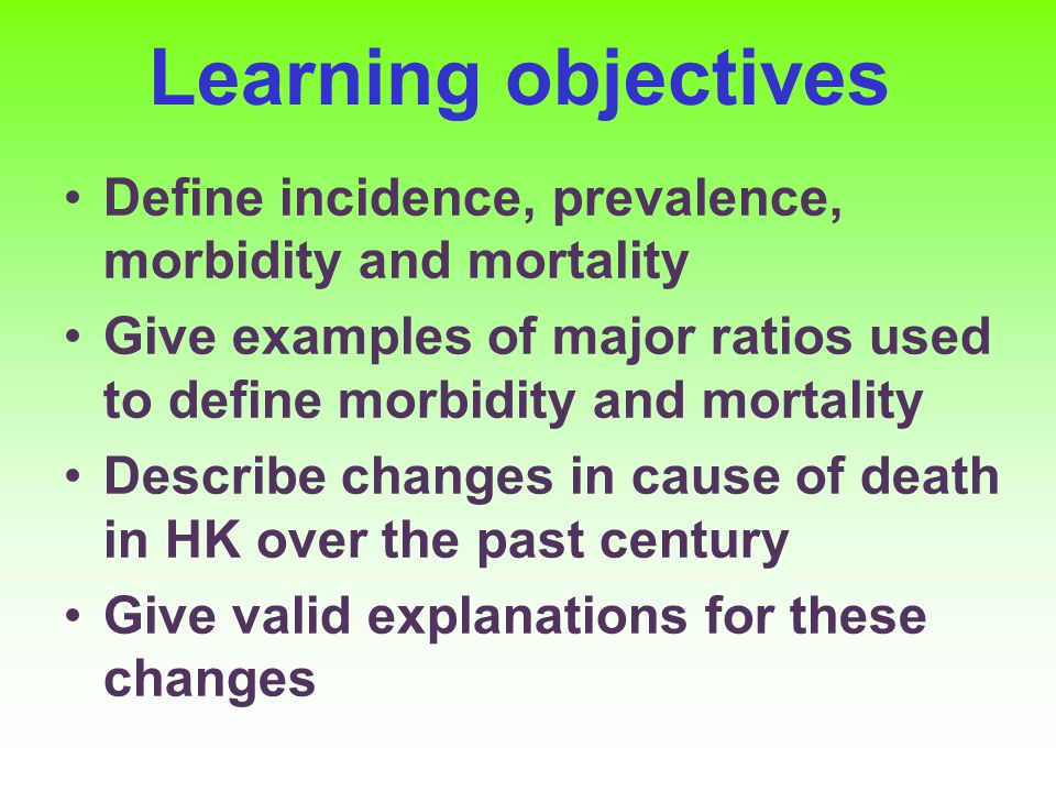 Learning objectives Describe the allocation of mortality to different categories of biology, environment, lifestyle, health care and contrast this with the expenditure in these areas; Describe the major determinants of health at the community level