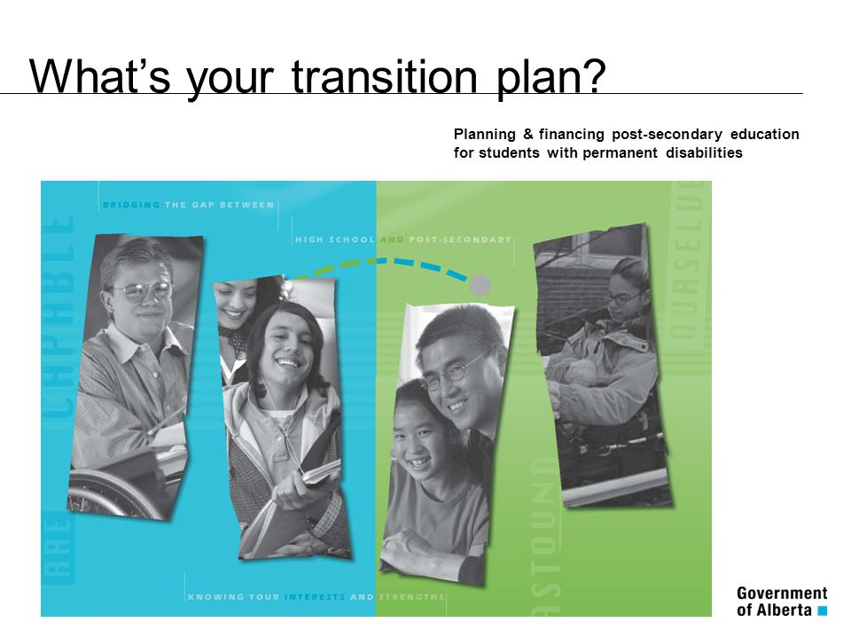 What's your transition plan.