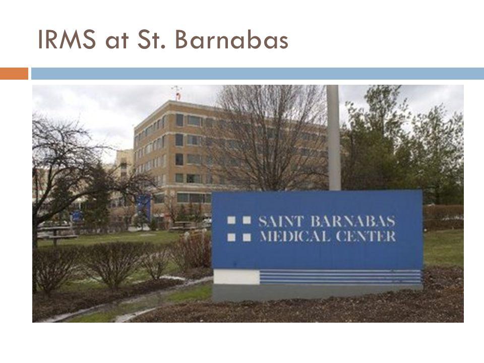IRMS at St. Barnabas