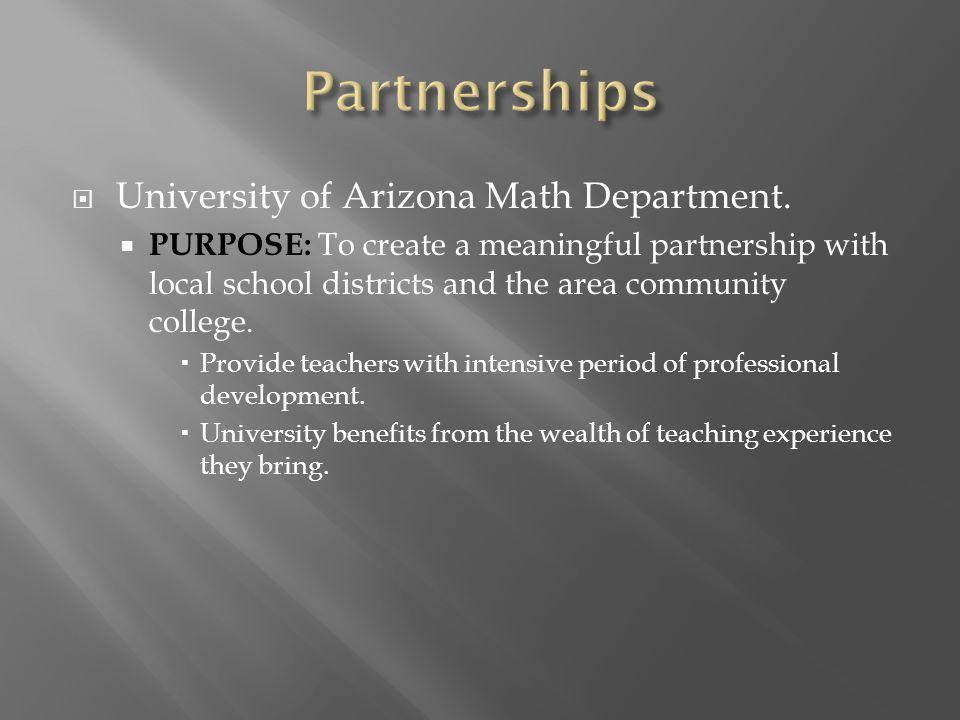  University of Arizona Math Department.