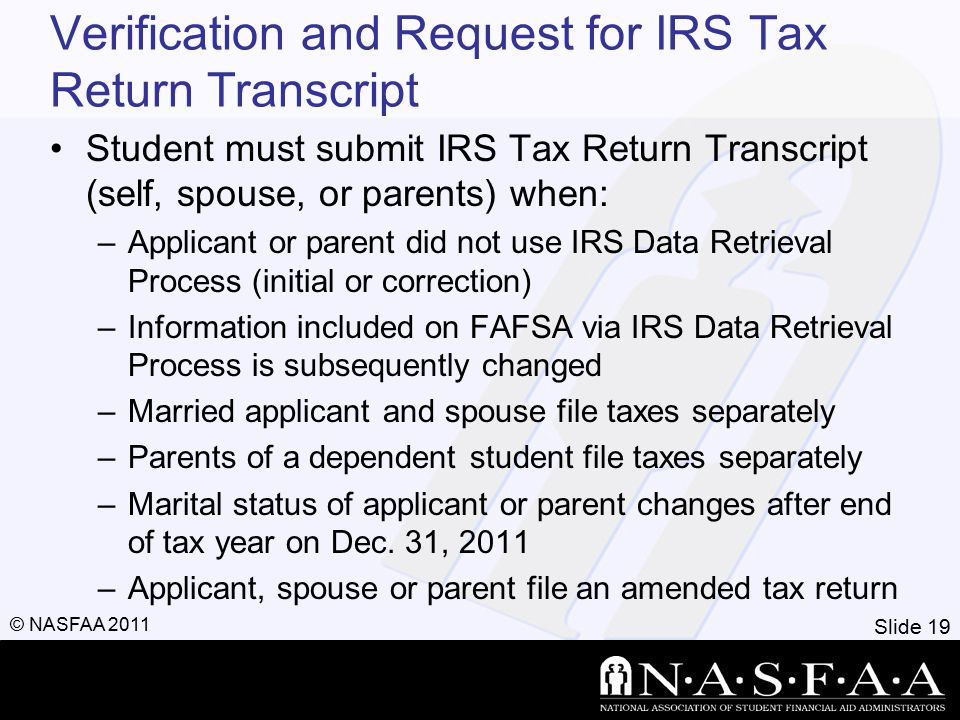 Slide 20 © NASFAA 2011 Awarding Process 18,823 - 2,958EFC 15,865Need - 2,600Pell 13,265 - 1,500Tower Scholar 11,765 - 1,000MO Access 10,765 - 1,000Perkins Loan 9,765 - 3,500Sub.