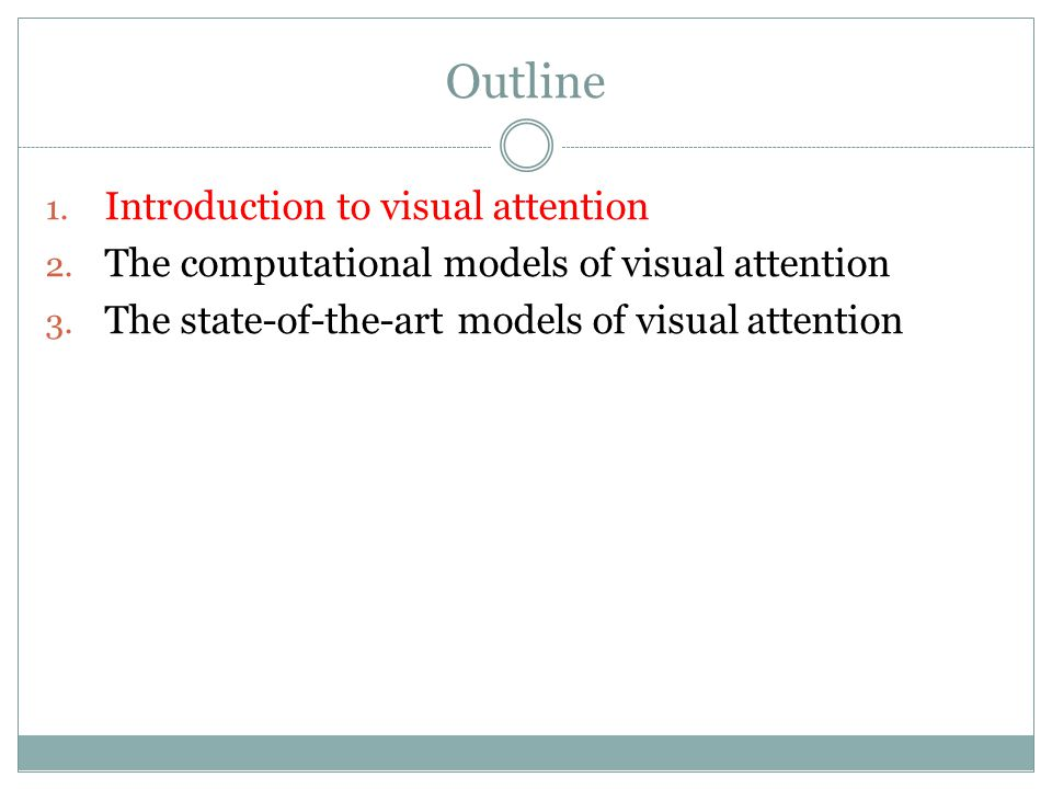 Preattentive Visual Features