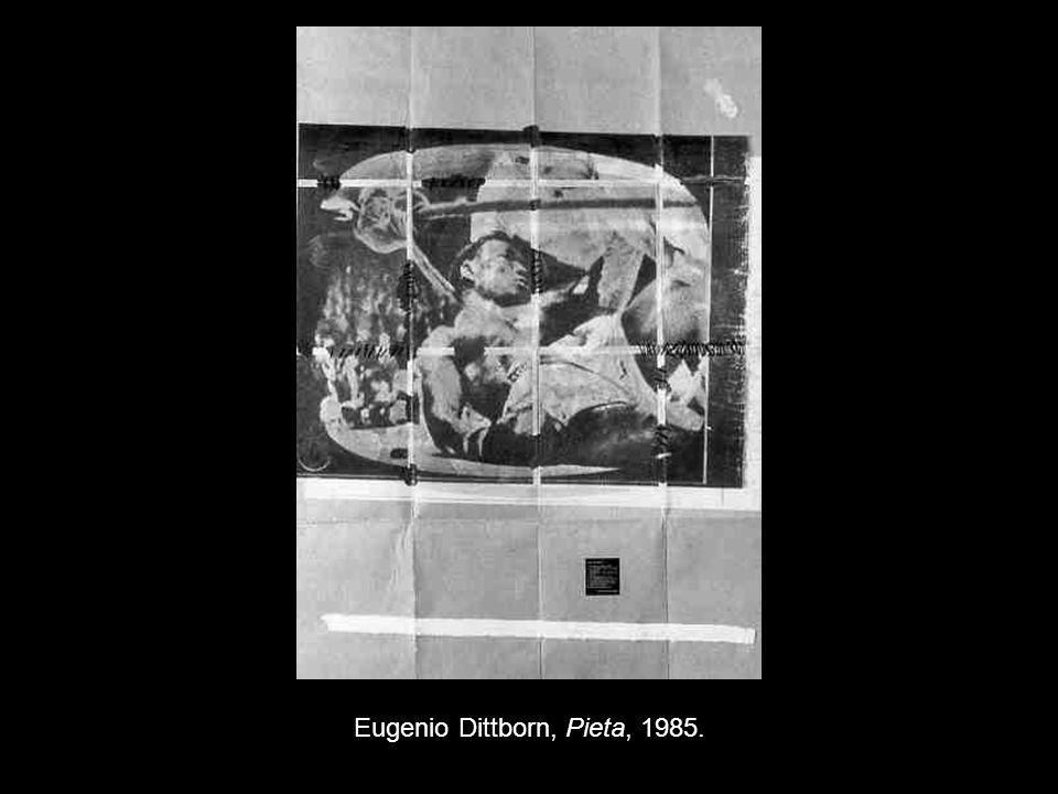 Eugenio Dittborn, Pieta, 1985.