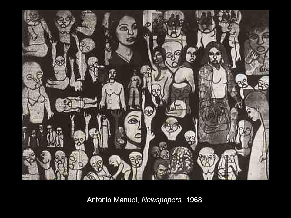 Antonio Manuel, Newspapers, 1968.