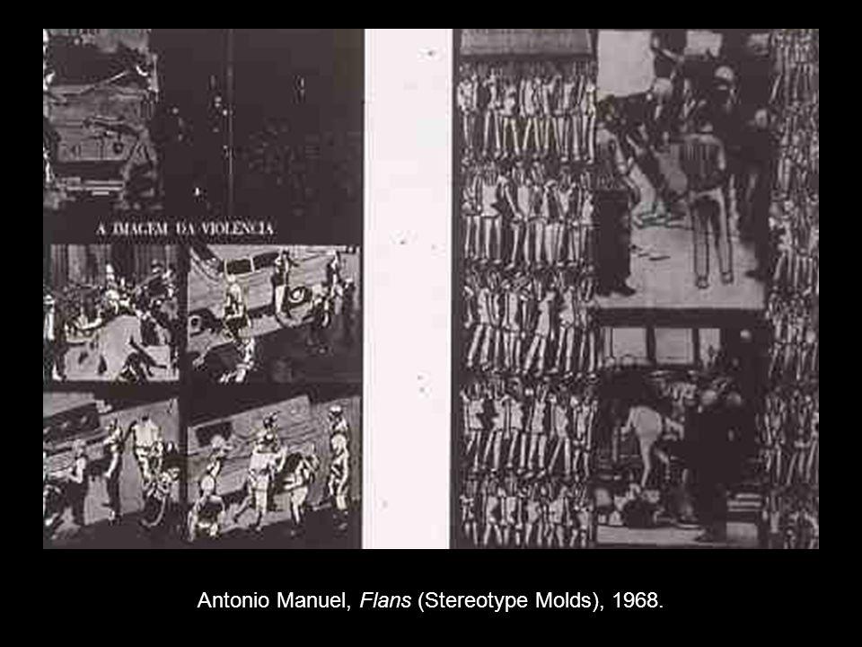 Antonio Manuel, Flans (Stereotype Molds), 1968.