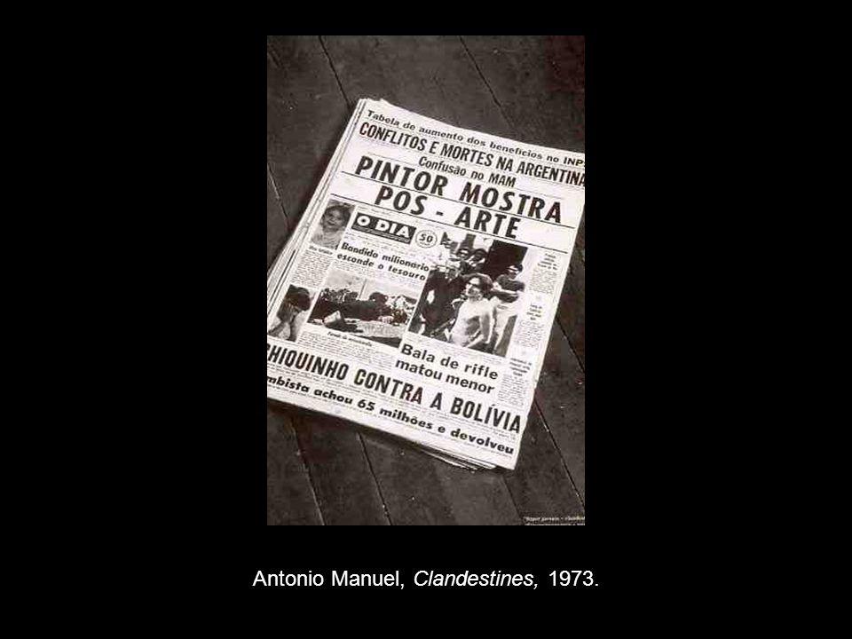Antonio Manuel, Clandestines, 1973.