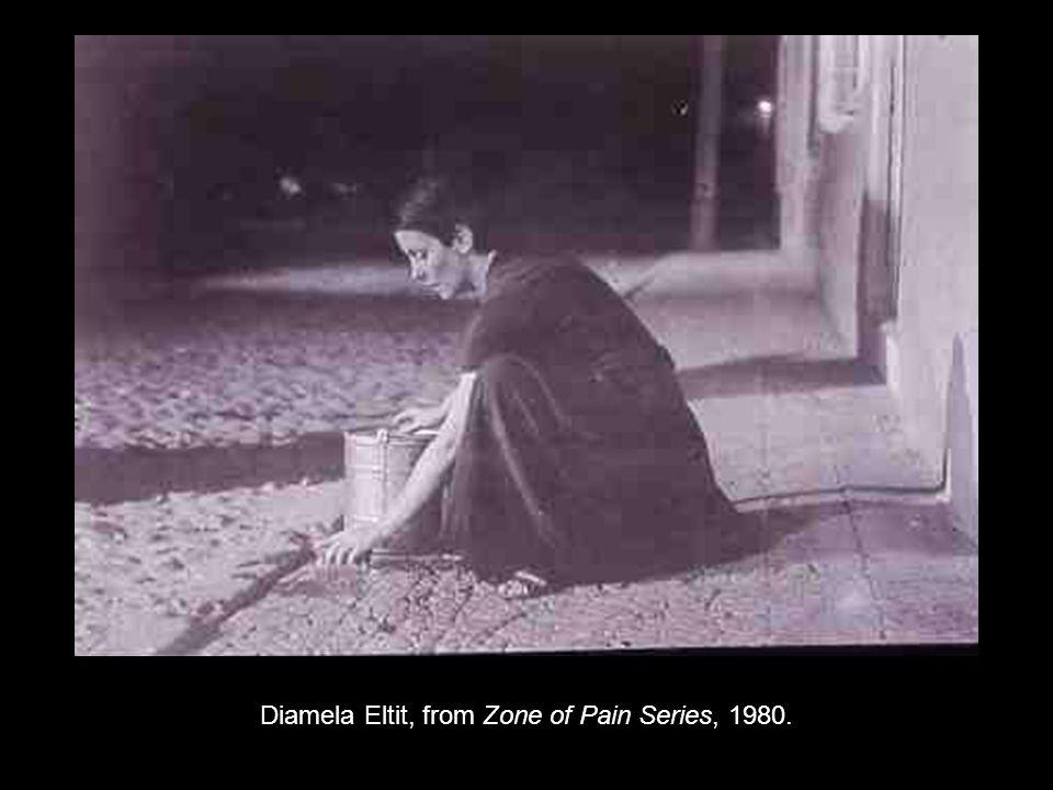 Diamela Eltit, from Zone of Pain Series, 1980.
