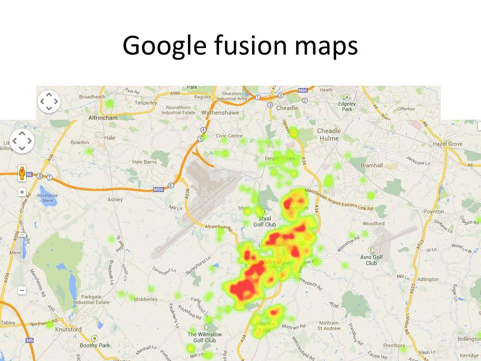Google fusion maps
